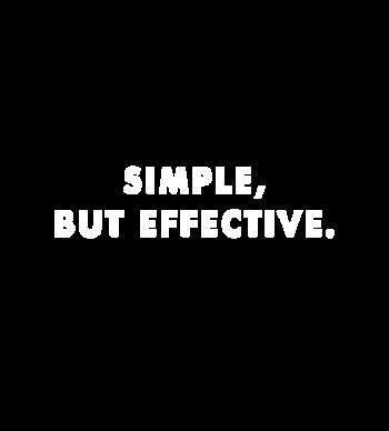 simple but effective - 1d merch