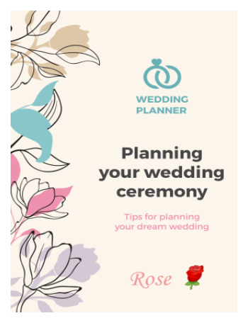 Wedding Ceremony Art Design
