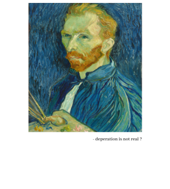 vincent -depression is not real ?