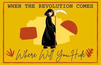 Revolution occupy Wall Street communism grim reape