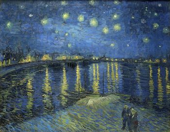 Vincent van Gogh's Starry Night Over the Rhone