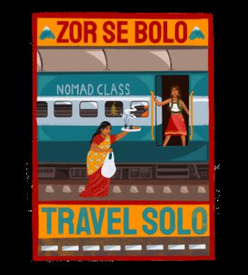 Zor Se Bolo Travel Solo