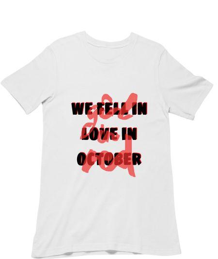 we fell in love in october