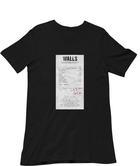 Louis Tomlinson Walls receipt