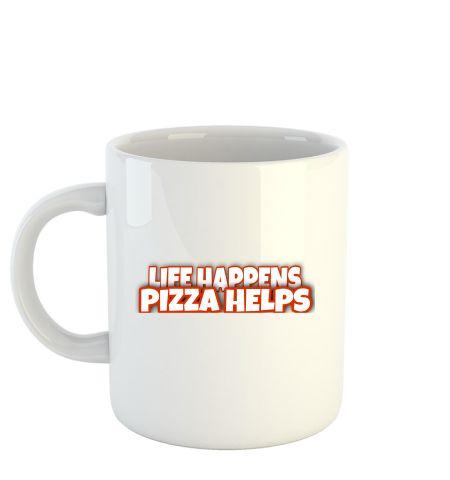 Life happens pizza helps
