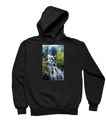 Tropical Rainforest Waterfall Tapestry