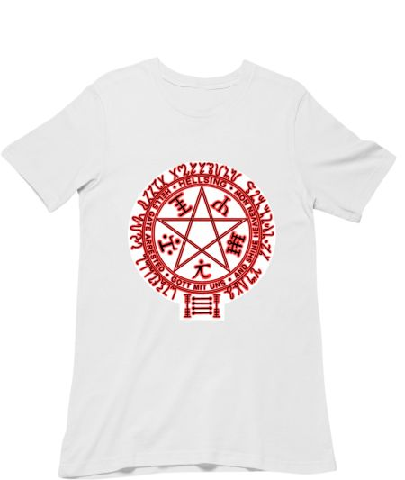 Hellsing pentagram (black on white)