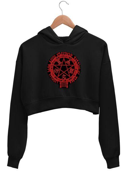 Hellsing pentagram (black on black)