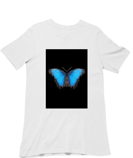blue butterfly (black background)