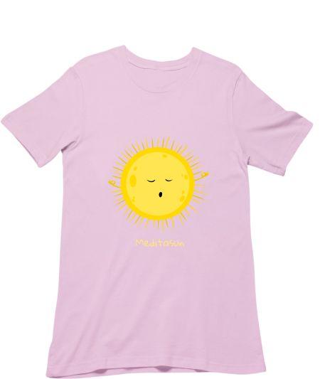 Meditating sun
