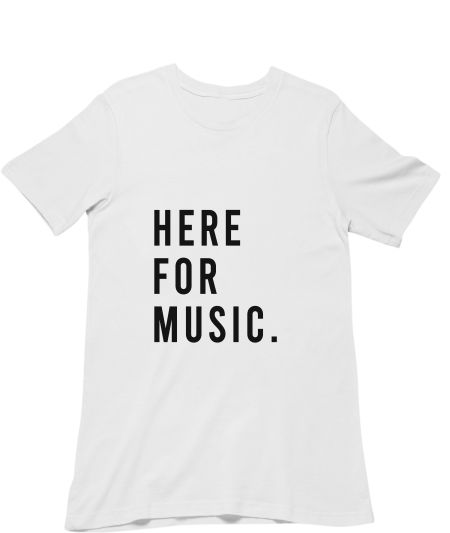 Here for Music.