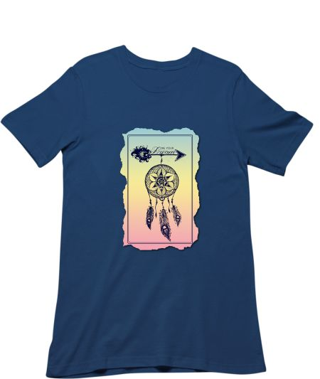 Live Your Dream- Dreamcatcher Mandala Art