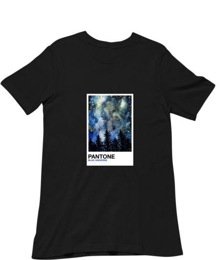 Pantone Blue Universe Galaxy Painting