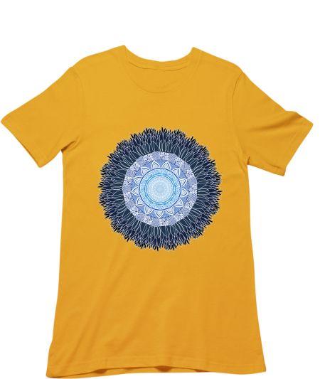 Sunflower with mandala