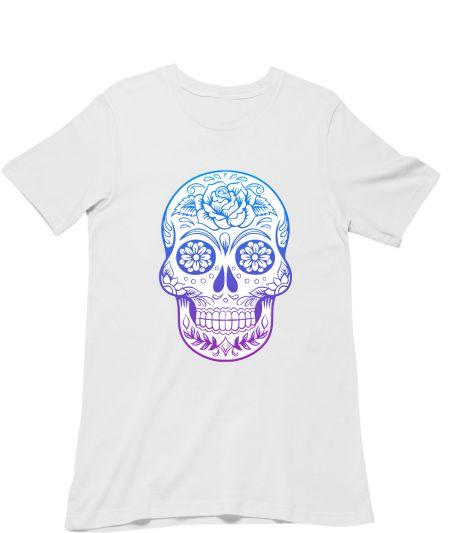 Funny Floral Sugar Skull