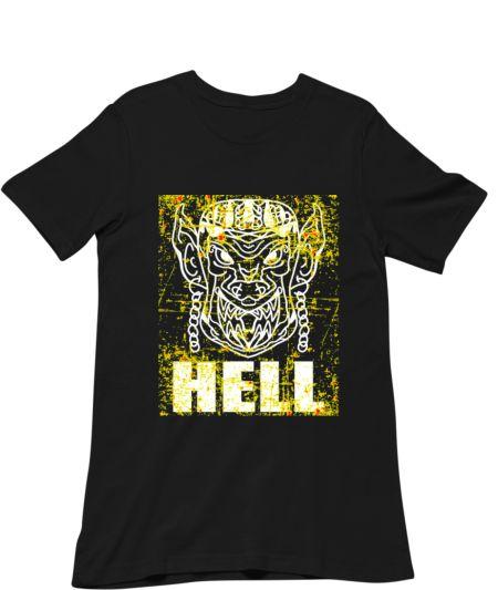 Hell On Fire Flame Devil Vintage
