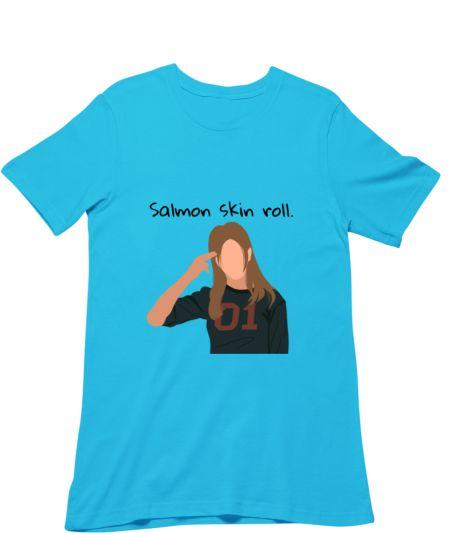 Salmon skin roll.