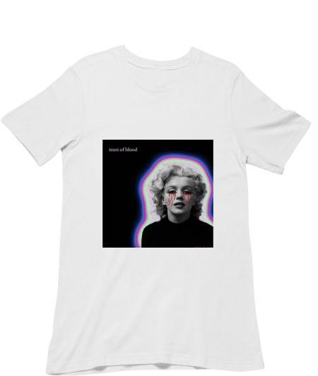 Marilyn cries blood