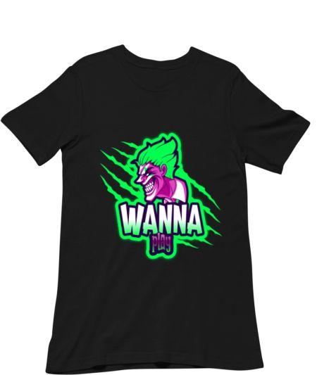 Wanna Play Joker Printed