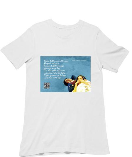Musical Postcard On a T-Shirt-Kabhie Kabhie