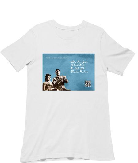 Musical Postcard On a T-Shirt-ABHI NA JAO