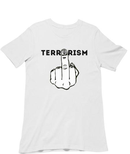 ANTI TERRORISM (MIDDLE FINGER)