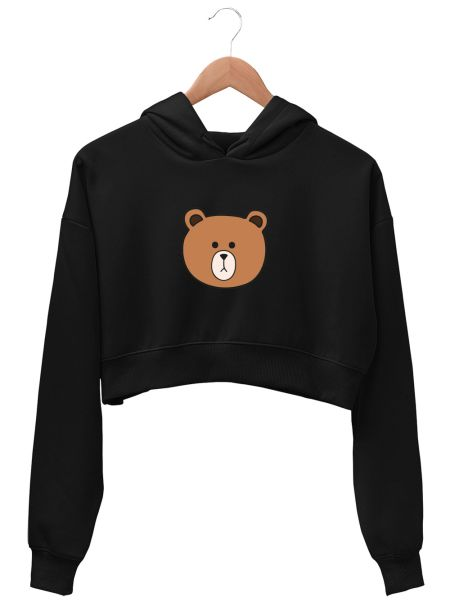 Cute Teddy Bear Crop Top