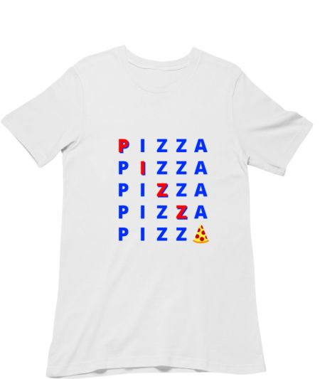 Pizza - Find the word 'pizza' puzzle.