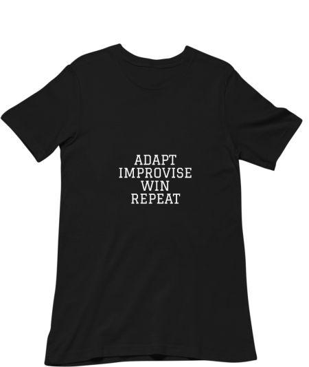 Adapt improvise win repeat