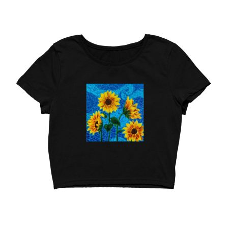 Starry Night Van Gogh X Sunflower