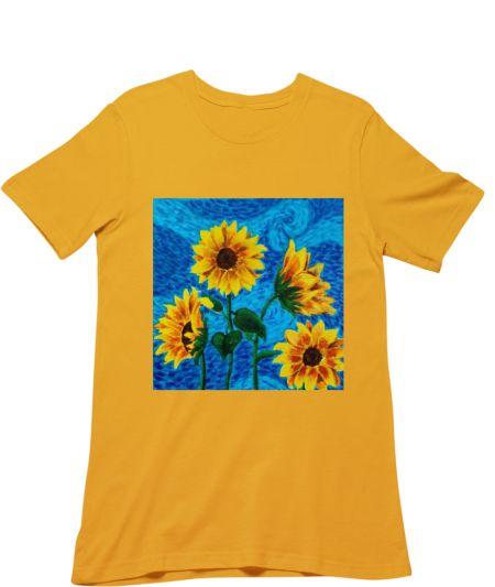 Starry Night Van Gogh X Sunflower