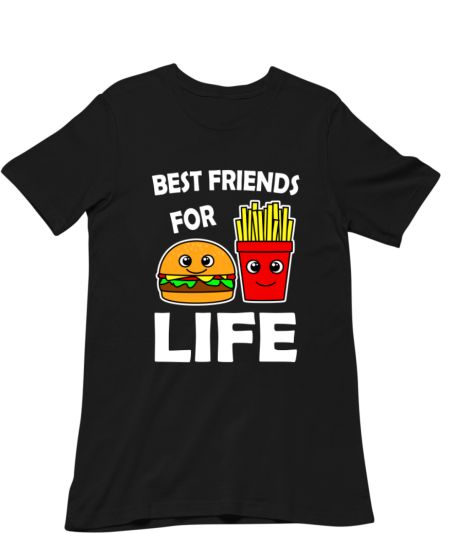 Best Friends For Life Burger And French Fries