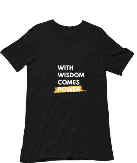 with wisdom comes power