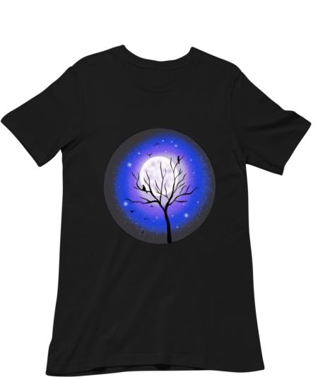 Moon light unisex T shirt