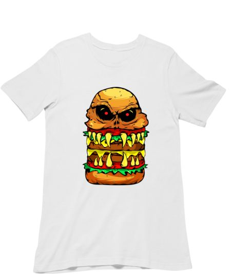Funny Scary Cheese Burger