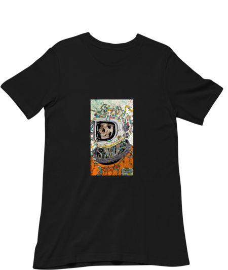 The skeleton astronaut