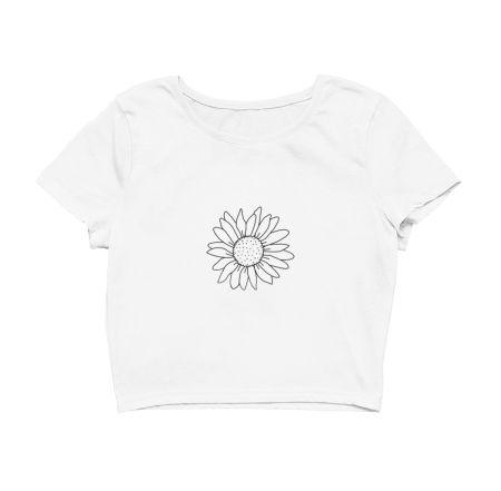 Sunflower line art design