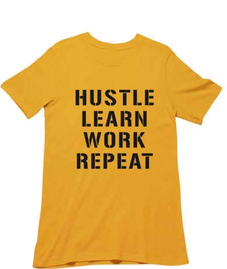 Hustle Learn Work Repeat