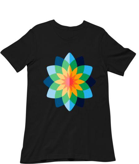 Colourful Flower Design Sweat Shirt