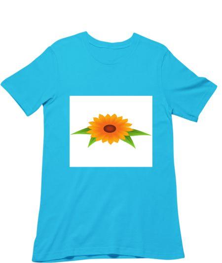 Sunflower Art Design Crop Top