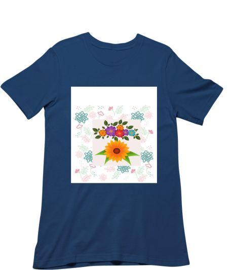 Sunflower & Colourful flower's design Sweet Shirt