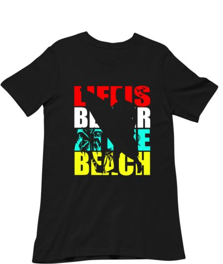 Life Is Better At The Beach Summer Retro