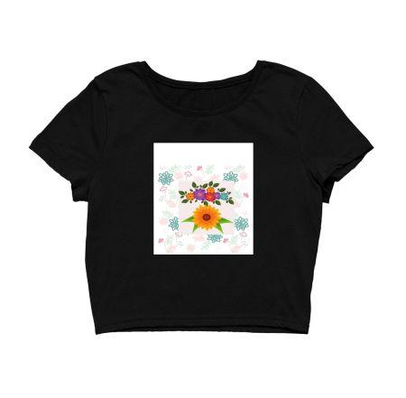 Sunflower & Colourful flower's Art Design