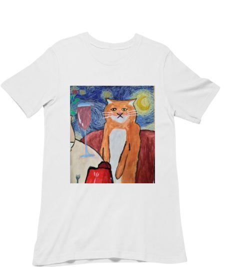 Wine Cat ft Van Gogh