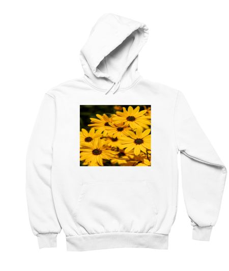 Sunflower Yellow Colour Design Crop Top