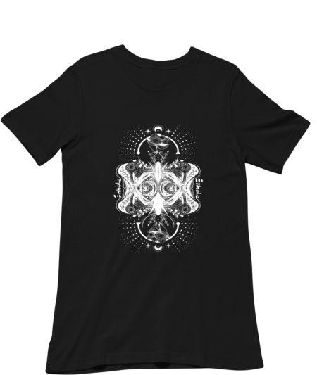 Dark Gothic Inhale Exhale Butterfly