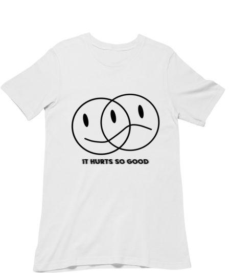 It Hurts So Good Sad Smiley Quote