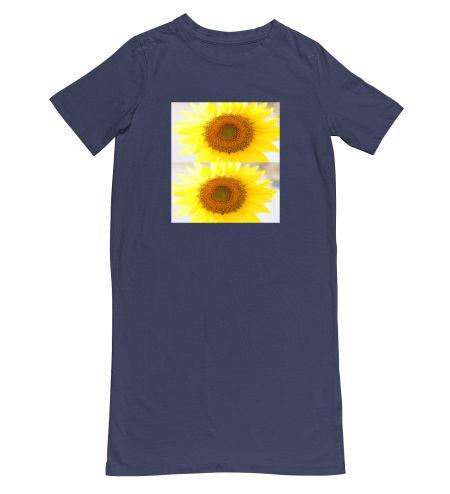 Sunflower Yellow Colour Trendy Art Design