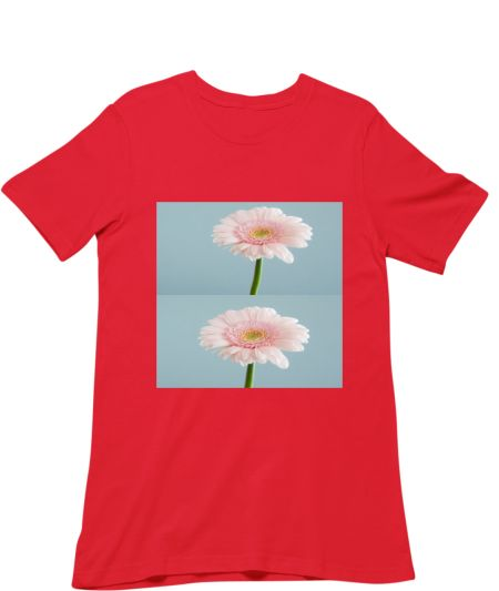 Trendy Pink Colour Flower's Design