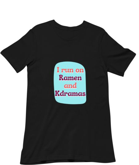 I run on Kdramas and Ramen